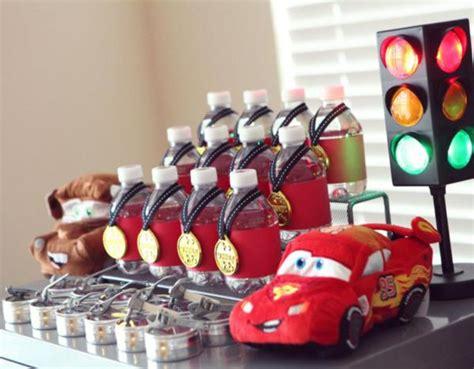 cars themed birthday giveaways kara s party ideas disney cars lightning mcqueen boy car