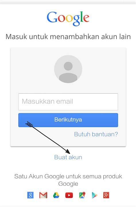 membuat email  gmail  mendaftar account