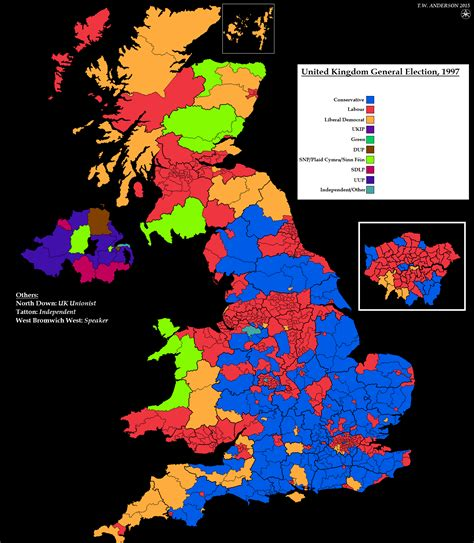 2015 uk election map resources uk general election maps for 1997 2015
