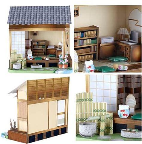 Papercraft Japan - japanese dollhouse papercraft papercraft paradise