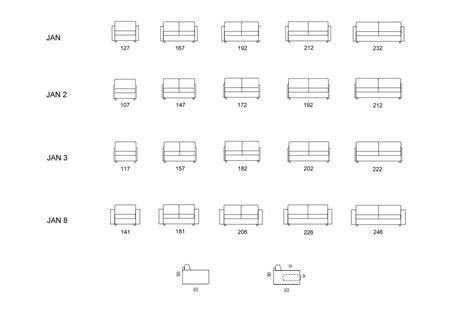 misure divano tre posti divano due posti dimensioni idee per il design della casa