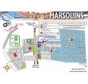 Camping Bretignolles Sur Mer Les Marsouins  Photo 1 Plan Du