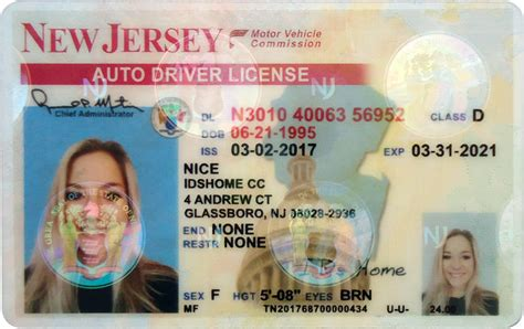 new jersey id card template how to spot a south carolina drivers license dedalrobot