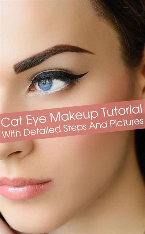 detailed tutorial cat eyeliner video how to do cat eye makeup perfectly tutorial with