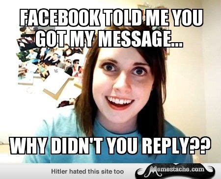 Oag Meme - 1000 images about overly attached girlfriend on pinterest