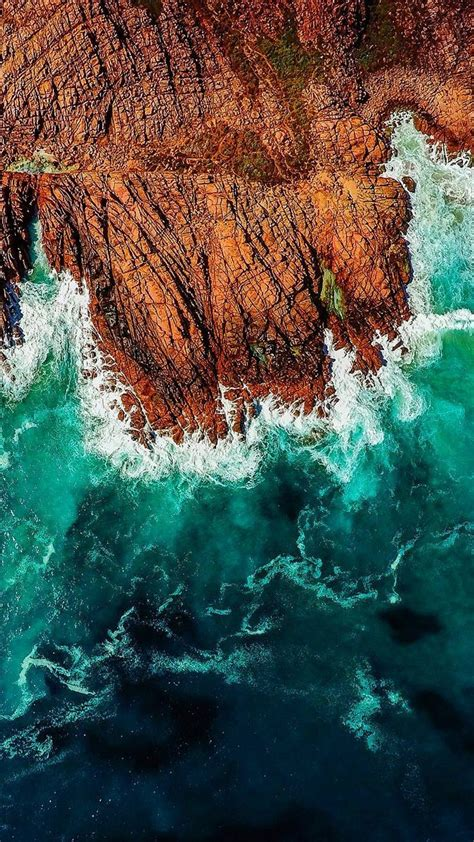 iphone wallpaper ocean waves graphic design