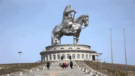 Mongol Steel the mighty genghis khan statue in mongolia ulaanbaatar