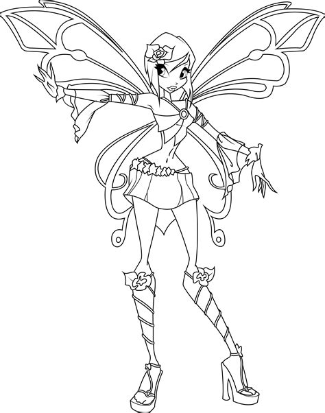 tecna sophix coloring page by icantunloveyou on deviantart