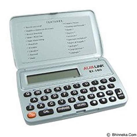 alfalink ei 16s dictionary jual alfalink kamus digital ei 16s white merchant