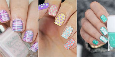 Nail Design Ideas by 21 Easter Nail Designs Easy Easter Nail Ideas