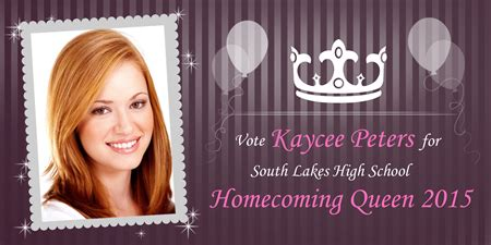 Homecoming Queen Poster Signazon Homecoming Flyer Template