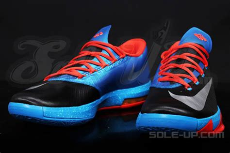 Sepatu Nike Kd 6 Quot Okc Quot Nike Kd 6 Sneakernews
