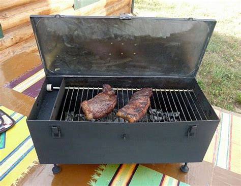 Your Own Portable Barbecue by Diy Portable Toolbox Grill Improved