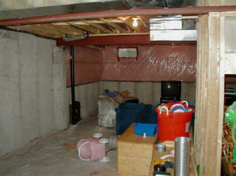 unfinished basement cave and unfinished basement cave