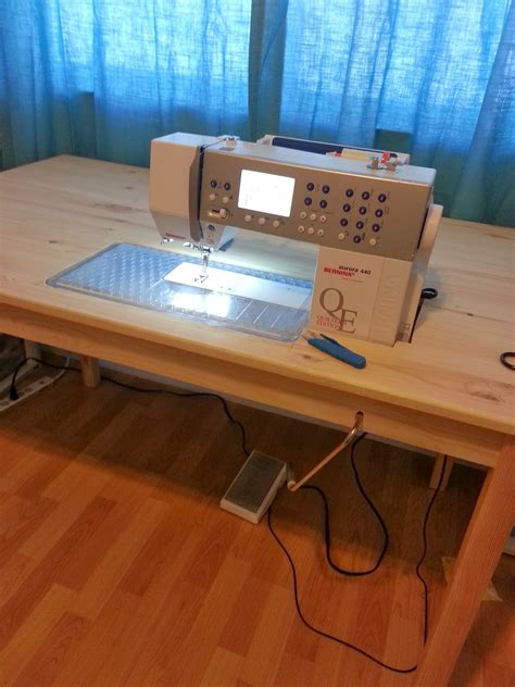 sewing machine table ikea sew e t diy ikea sewing table hack