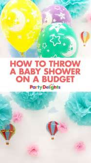 How To Throw A Baby Shower On A Budget by Best 25 Cheap Baby Shower Decorations Ideas On