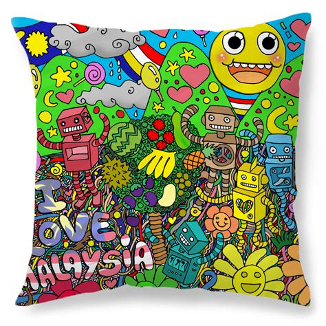 Pillow Malaysia by Creative United Discover Amazing Designs From