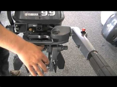 2dehands buitenboordmotor yamaha f9 9 f8 outboard engine features youtube