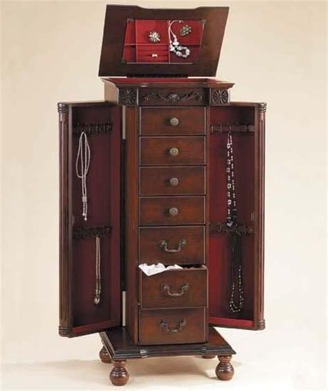 lewiston jewelry armoire
