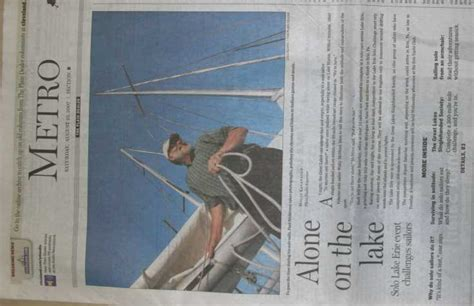 plain dealer metro section glss 07 lake erie solo