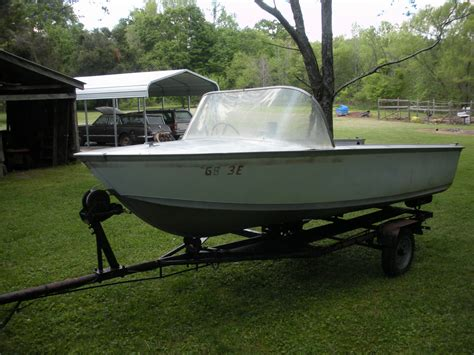 alumacraft boats for sale on ebay alumacraft maracaibo 1961 for sale for 700 boats from