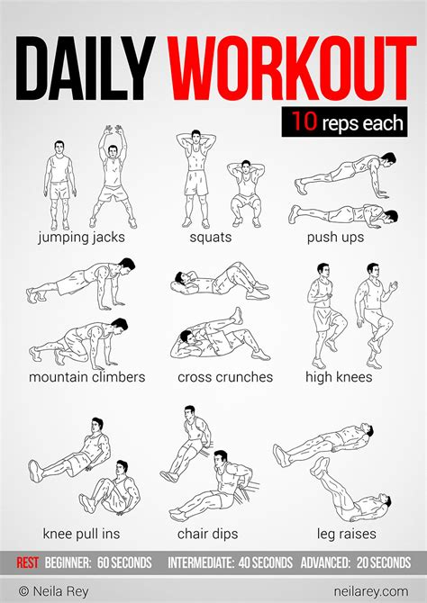 easy daily workout health lifestyle easy