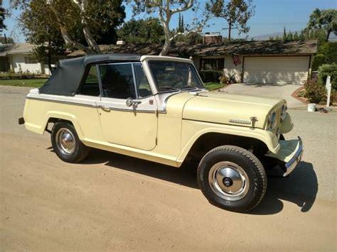 1967 jeep commando jeepster ewillys