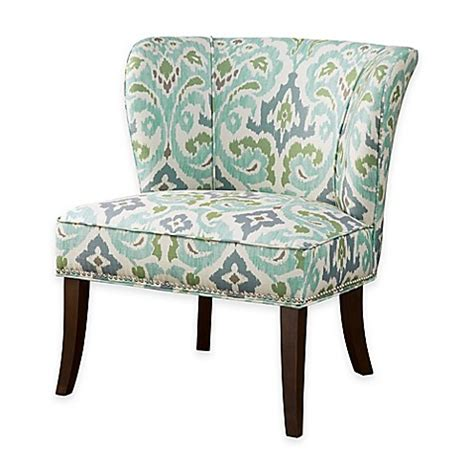 Blue Green Accent Chair Buy Park Armless Accent Chair In Blue Green From Bed Bath Beyond