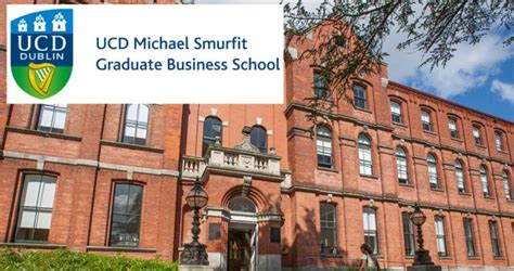 Free Mba Scholarship by Tuition Free Mba International Scholarships At Ucd Smurfit