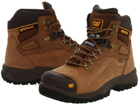 caterpillar s diagnostic steel toe waterproof boot stay in the with the best waterproof work boots