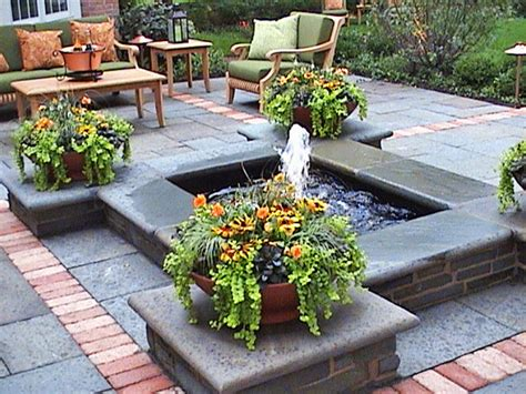 Backyard Ponds And Fountains by Triyae Fountains For Backyard Ponds Various Design