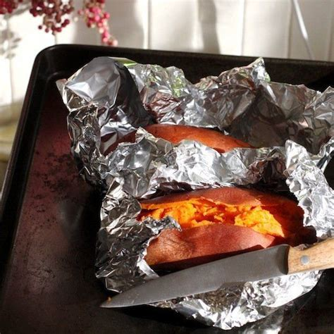 how to bake a sweet potato in the oven recipe