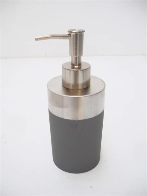 Modern Bathroom Soap Dispenser Modern Chrome Bathroom Kitchen Soap Dispenser Toilet Brush Black Grey White Ebay