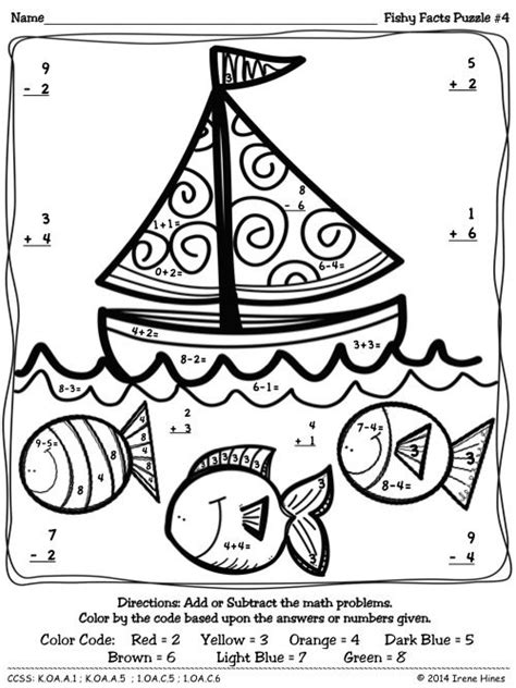 math skills coloring pages 188 best color by number images on pinterest coloring