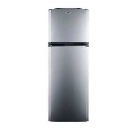 Refrigerator Cabinet Depth by Summit Appliance 8 8 Cu Ft Top Freezer Refrigerator In Stainless Steel Counter Depth
