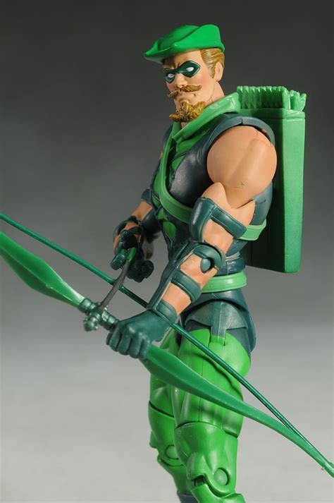 Dcuc Arrow review and photos of mattel dcuc green arrow black canary