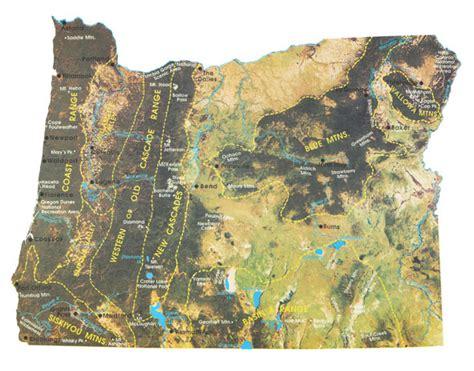 map of oregon mountain ranges mountain ranges of oregon