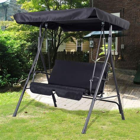 Garden Swing Seat 2 3 Seater Hammock Outdoor Swinging