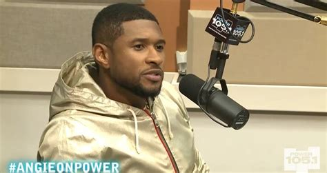 usher question usher interview with angie martinez hiphop n more