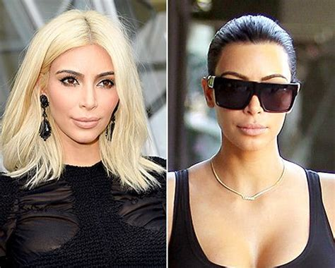 keeping up with the kardashians kim blonde is full time blonde hair colors back to and blonde hair on pinterest
