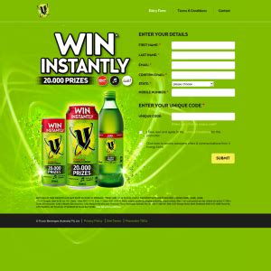 Win Prizes Instantly - v energy drink win a share in 20 000 prizes instantly
