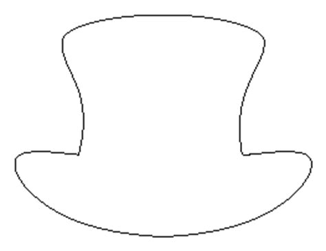 top hat template browse t patterns page 2