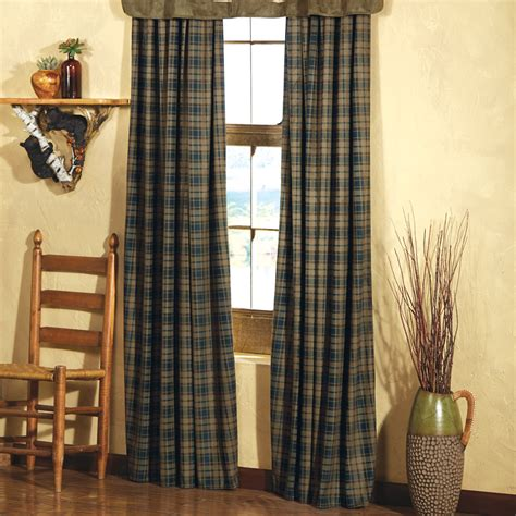 lodge curtains kodiak lodge drapes clearance