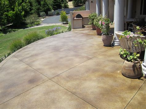 concrete for backyard stained patio stained concrete decorative stained concrete stman concrete