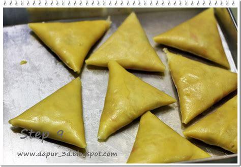dapur  step  step  membuat risoles bentuk segitiga