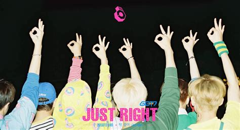 got7 desktop wallpaper tumblr got7 reveals track list for quot just right quot with lyric
