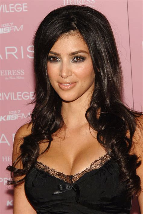 kim kardashian s makeup and hairstyles pictures of kim