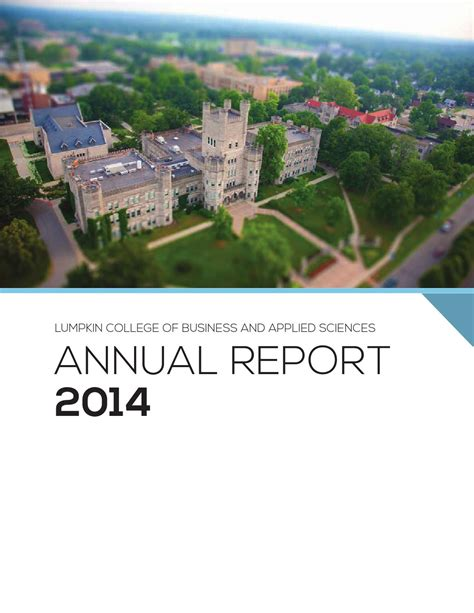 Eiu Mba Ranking 2014 by 2014 Annual Report Lumpkin College Of Business And Applied