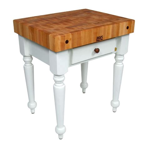 boos table boos rustica butcher block kitchen island table