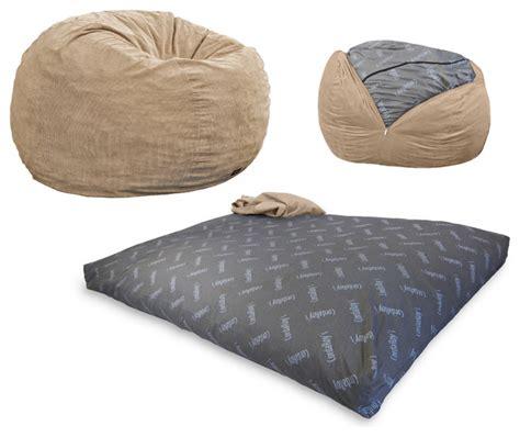 Bean Bag Sleeper by Cordaroy S Corduroy Beanbag Chair Sleeper Khaki